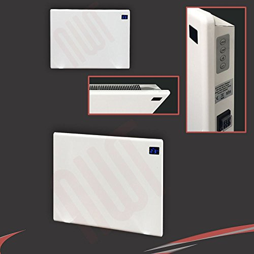 "41zzFDHdmZL. SS500  - 1000w""Nova Live R"" White Electric Horizontal Panel Heater - 24hr/7 day programming, 1KW Convector Heater - 500mm(w) x 400mm(h)"