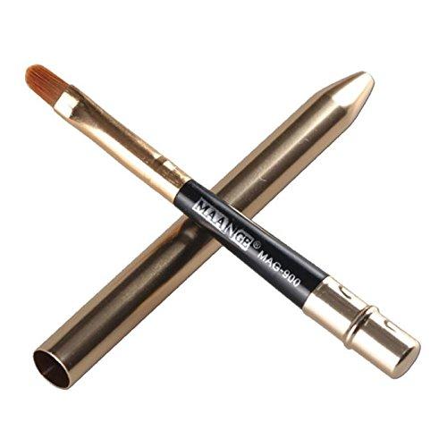 Tragbare 1 Pc Make-up Lip Pinsel Versenkbare Professionelle Comestic Make-up Lippen Pinsel Für Reise äSthetisches Aussehen Make-up-utensilien & Zubehör Schönheit & Gesundheit