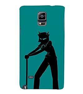 EPICCASE Devil boy Mobile Back Case Cover For Samsung Galaxy Note 4 EDGE (Designer Case)