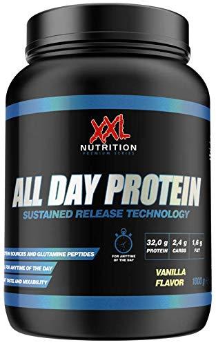 XXL Nutrition All Day Protein | Mehrkomponenten Protein Mit Hydrolysat | Schokolade 2500g