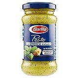 Barilla Sugo Pesto alla Genovese senza Aglio con Basilico Fresco Italiano e Parmigiano Reggiano DOP, Senza Glutine - 190 g