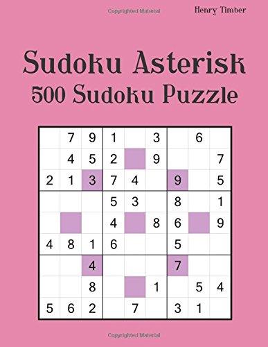 Sudoku Asterisk 500 Sudoku Puzzle