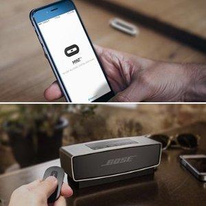 MYNT Smart Tracker und Fernbedienung – Tragbar mit Edelstahl Shell: Schlüssel, Brieftasche Abbildung 2