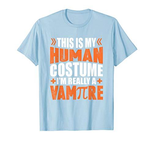 Pi-Tag Menschen Kostüm wirklich ein Vampir Math Geschenk - Mensch Vampir Kostüm