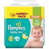 Pampers Baby-Dry Größe 7Windeln 58Jumbo Pack