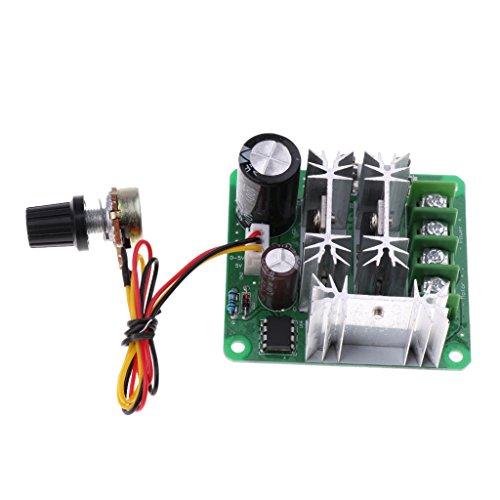 Baoblaze Digital DC Motor Gleichstrommotoren Controller PWM Drehzahlregelung Motorgeschwindigkeit Schalter Modul 6-90 V 8A-15A Hohe Effizienz