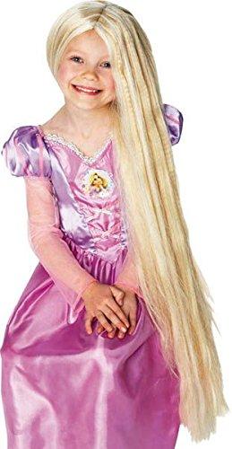 Preisvergleich Produktbild Déco-Sono–Rapunzel-Perücke mit phosphoreszierenden Strähnen