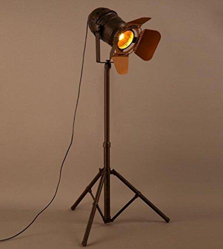 Stehlampe Retro-Industrie-Stil Creative Eisen Stativ Stehleuchte Wohnzimmer Schlafzimmer Büro Aisle Hotel Club Galerie Leselampe (Eisen-stativ)