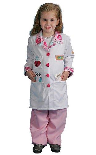 Dress Up America Kleines Mädchen Tierarzt ()