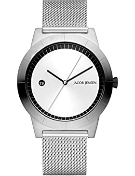 Jacob Jensen Herren-Armbanduhr 142