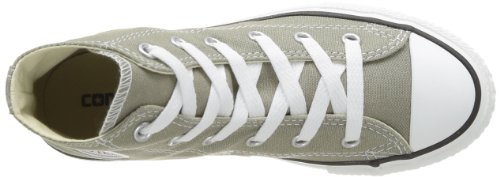 Converse Chuck Taylor All Star Season Hi, Baskets mode fille Gris (Vieil Argent)