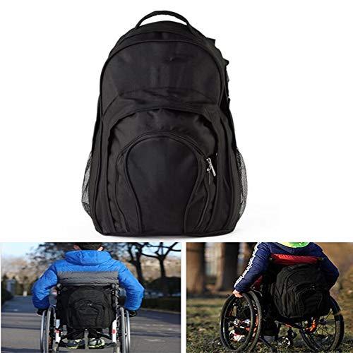 Deluxe Rollstuhltasche - Rollstühle und Scooter, großer Rucksack, der an den Griffen befestigt wird, um eine nützliche und bequeme Aufbewahrung zu gewährleisten