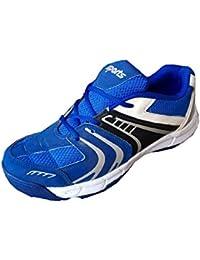 Aryans men blue stud cricket shoes (10)