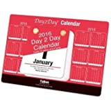 2016 Day To Day Desk Top Stand Up Tear Off Block Calendar Quotes & Facts