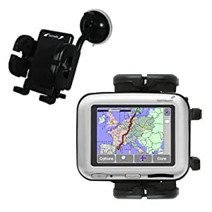 Support pare-brise pliable pour TomTom Go 500 - marque Gomadic