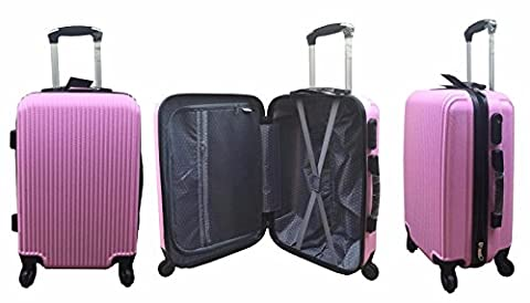 Hard Shell Cabin Suitcase Case 4 Wheel Luggage Spinner Lightweight 20