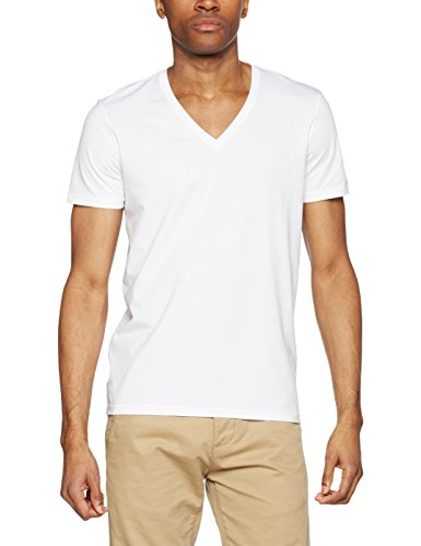 BOSS Hugo Boss Herren T-Shirt Vn Cotton+ Weiß (White 100)