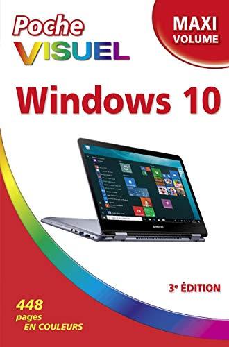 Poche Visuel Windows 10 Maxi Volume, 3e édition par Bob LEVITUS