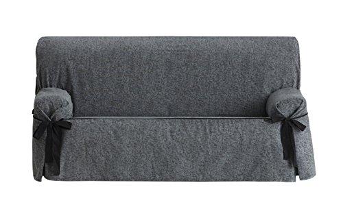 Eysa italia dream salvadivano con lacci 3 posti, ciniglia, grigio, 37x6x29 cm