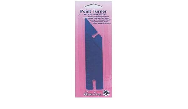 Hemline point Turner avec bouton Guage