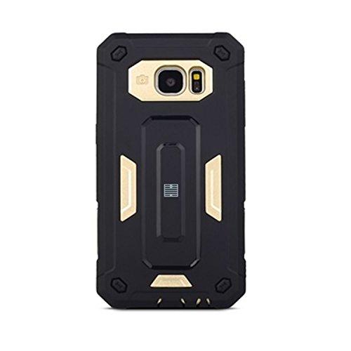 62a929ef8e1 32nd Duro Defender Shockproof – Carcasa rígida by 32 nd® – Disponible para  Samsung Galaxy S6 S6edge S7 s7edge A3 A5 J5 Grand Prime Dorado Hard  Defender ...