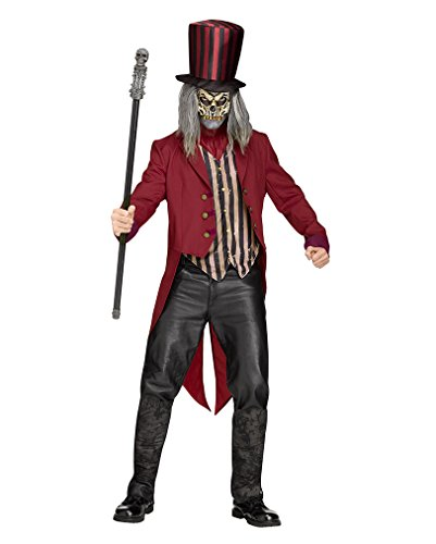 Freak Show Zirkus Direktor Kostüm für Herren One Size