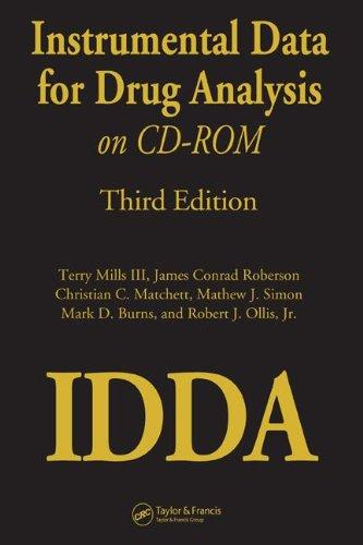 Instrumental Data for Drug Analysis on CD-Rom por Terry Mills  III