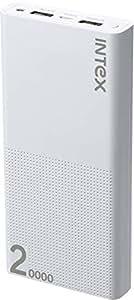 Intex IT-PBA 20K Poly 20000mAH Lithium Polymer Power Bank (White)