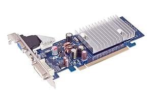 Asus EN6200LE TC512/TD/25 Carte graphique NVIDIA GeForce 6200LE Dissipateur thermique ultra-silencieux OpenGL 1.5 512 Mo