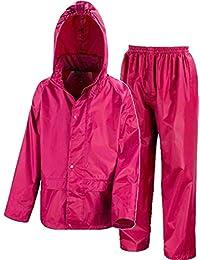 9018ce3cfca Kids Waterproof Jacket   Trousers Suit Set in Black