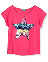 United Colors of Benetton T-Shirt Camiseta de Tirantes para Niñas