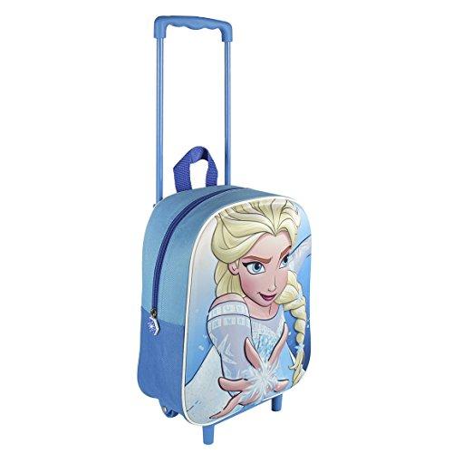 Disney Frozen Il Regno di Ghiaccio - Zaino trolley 3D 25x31x10cm Elsa