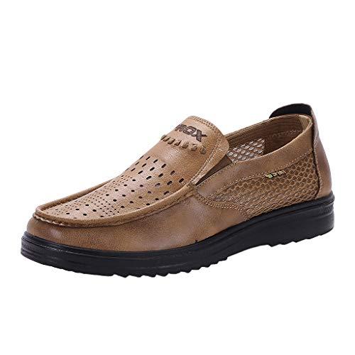 LILICAT_Schuhe Herren Leder gefütterte, quadratische Toe Loafers Schuhe Klassiker rutschfeste Arbeitsschuhe Atmungsaktiv Schuhe Business Schuhe Hochzeit Schuhe Smoking Schuhe (Schuhe Kostüm Ariel)