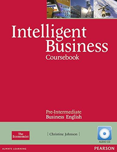 Intelligent Business Pre-Intermediate Coursebook/CD Pack por Tonya Trappe
