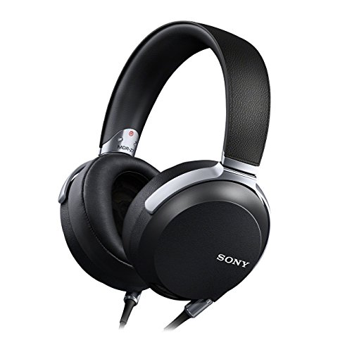 Sony MDR-Z7 Cuffie Over-Ear, Hi-Res Audio, Driver LCP da 70 mm, Riproduzione frequenze 4Hz-100kHz, Nero