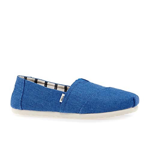 TOMS Damen Women Alpargata Blue Crush Espadrilles, Blau 001, 37.5 EU Womens Toms