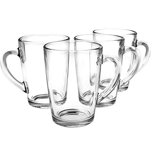COM-FOUR® Tee- und Kaffeeglas in verschiedenen Größen