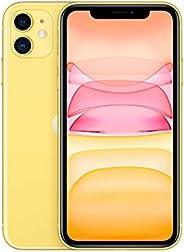 هاتف ابل ايفون 11 بتطبيق فيس تايم - (128 جيجا) - اصفر