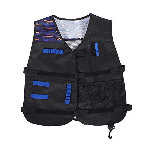 Vgeby gilet tattico, supporto per pistola per pistola a proiettile di schiuma per fucili nerf gioco per bambini n-strike elite series
