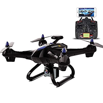 E-KIA Drone with 1080p HD Camera Live Video and GPS Return Home,2.4ghz Remote Control, 6-Axis Gyroscope wifi
