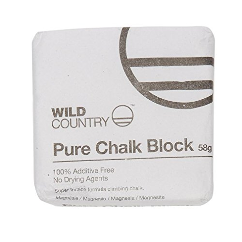 Wild Country Pure Perfect For Two Refills, Chalk Let You Crush Your Own Style Down To Powder, Small Chunks Or Keep As Big Block. , White, One size