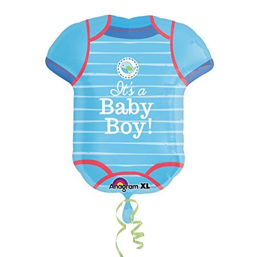 Amscan International 3091201Folie Ballons/Form: Dusche mit Love Boy
