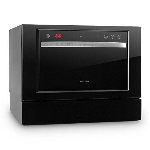 Klarstein Amazonia 6 Luminance • Spülmaschine • Tischgeschirrspüler • kompakter Geschirrspüler • 55 cm breit • für 6...
