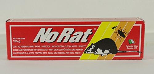AUCUNE COLLE INCOLORE de RAT pour usage domestique et civile en TUBE de 135 GRAMMES