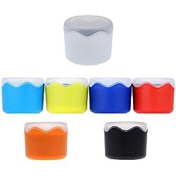 ZoPhor(TM)Fashion Wristwatch Storage Case Round Plastic Single Watch Box Case with Sponge Cushion Watch Accessories