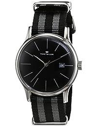 TOM Tailor relojes hombre-reloj analógico de cuarzo nylon 5415101