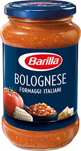 Barilla Pastasauce Bolognese Formaggi Italiani - Bolognese-Sauce 1 Glas (1x400g)