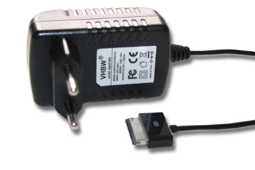 Caricabatterie per Asus EEE Pad Transformer TF101, TF201, TF700, TF700T, TF300, Slider SL101, Prime TF201, TF101G, TF300T, TF300TG etc.