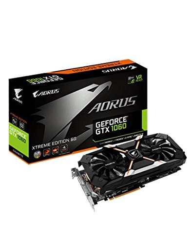 Gigabyte GV-N1060AORUS X-6GD Virtual-Reality, 6GB