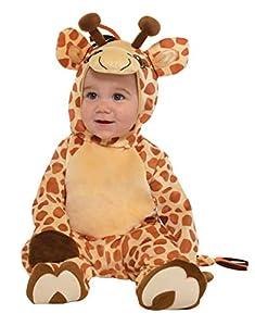 amscan 9902077Disfraz bebé Jirafa, 6-12Meses